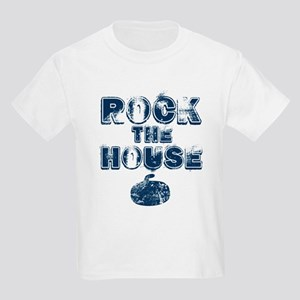 Rock the House Blue Kids Light T-Shirt