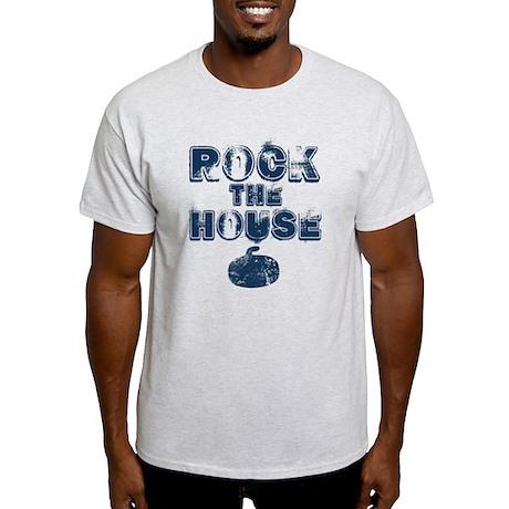 Rock the House Blue Light T-Shirt