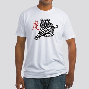 Chinese Tiger Fitted T-Shirt