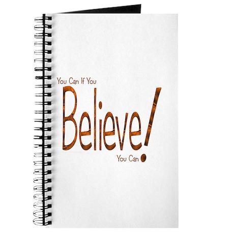 Believe! (Orange) Journal