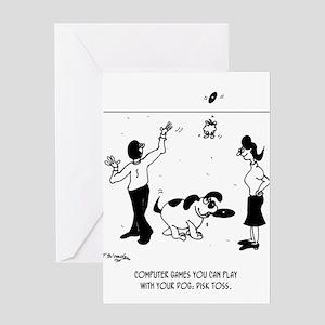 Software Cartoon 3364 Greeting Card