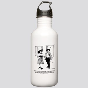 Language Cartoon 2864 Stainless Water Bottle 1.0L