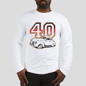 '40 Ford Red/Tan Long Sleeve T-Shirt