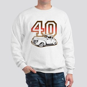'40 Ford Red/Tan Sweatshirt