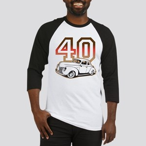 '40 Ford Red/Tan Baseball Jersey
