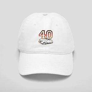 '40 Ford Red/Tan Cap