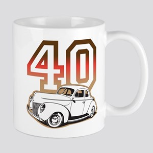 '40 Ford Red/Tan Mug
