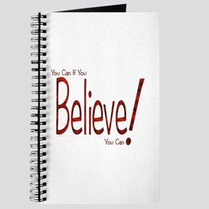 Believe! (Red) Journal