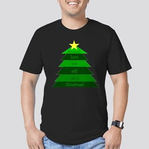 It's Christmas! Men's Fitted T-Shirt (dark)