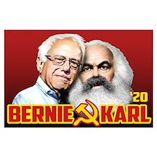 Bernie/Karl 2020 Large Poster
