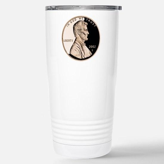 Penny Stainless Steel Travel Mug