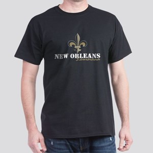 New Orleans, Louisiana gold Dark T-Shirt