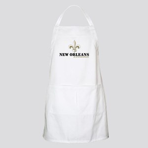 New Orleans Louisiana gold Light Apron