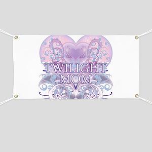 Twilight Mom Fancy Heart Banner