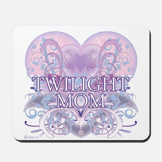 Twilight Mom Fancy Heart Mousepad