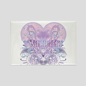 Twilight Mom Fancy Heart Rectangle Magnet