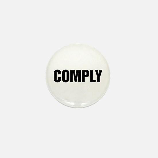 COMPLY Mini Button