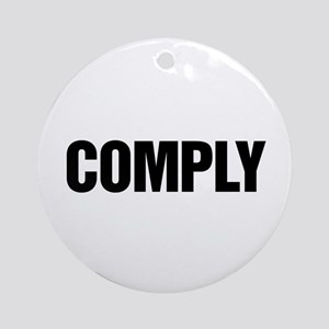 COMPLY Ornament (Round)