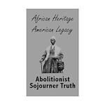 Sojourner Truth Rectangle Sticker 50 pk)