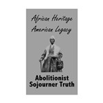 Sojourner Truth Rectangle Sticker 50 pk)