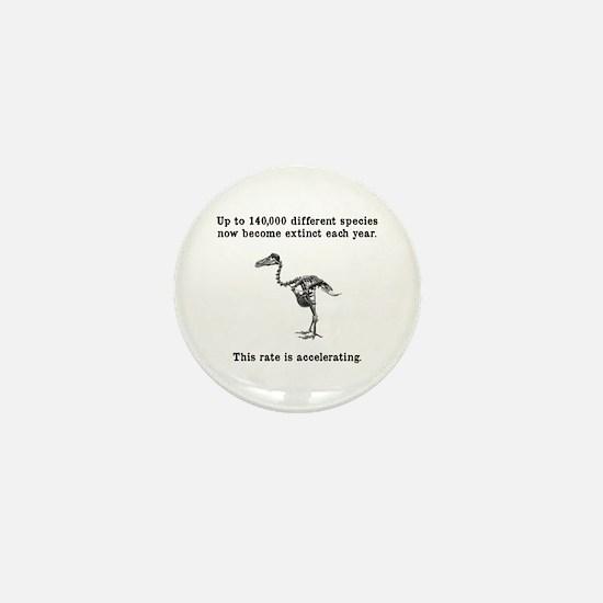 Extinct Mini Button