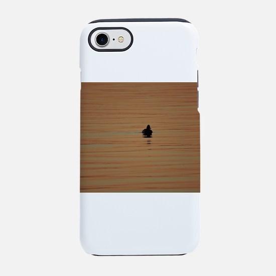 Sunrise Duck - Alone iPhone 7 Tough Case