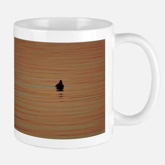 Sunrise Duck - Alone Mugs