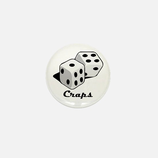 Craps Mini Button