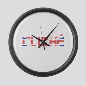 Cliché Large Wall Clock