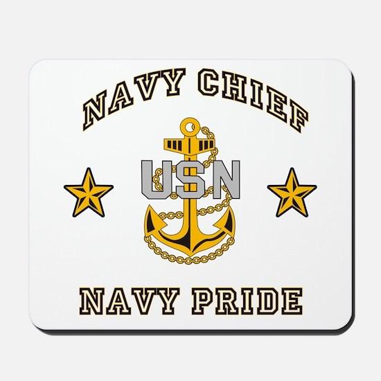 Navy Chief, Navy Pride Mousepad