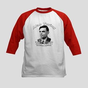 Alan Turing 01 Kids Baseball Jersey