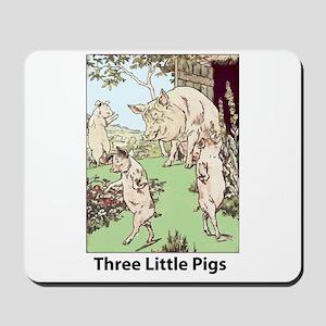 Three Pigs Mousepad