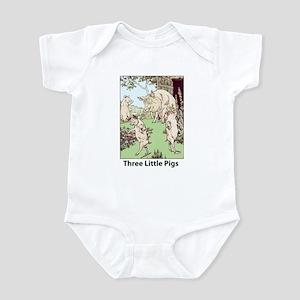 Three Pigs Infant Bodysuit