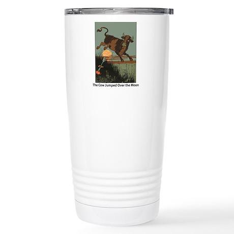 Cow Jump Stainless Steel Travel Mug