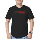 Tiny Red Underpants Men's Fitted T-Shirt (dark)