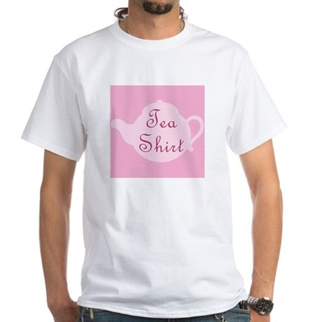 Tea Shirt - White T-Shirt