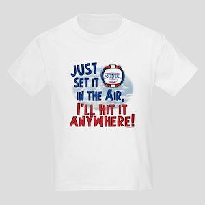 Hit it Anywhere vball Kids Light T-Shirt