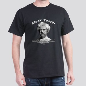 Mark Twain 02 Black T-Shirt