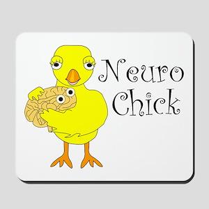 Neuro Chick Mousepad