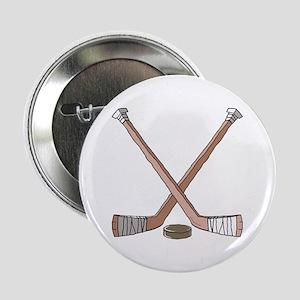 Hockey Sticks Button