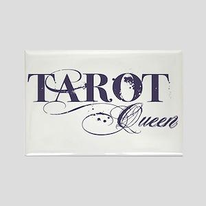 Tarot Queen Rectangle Magnet
