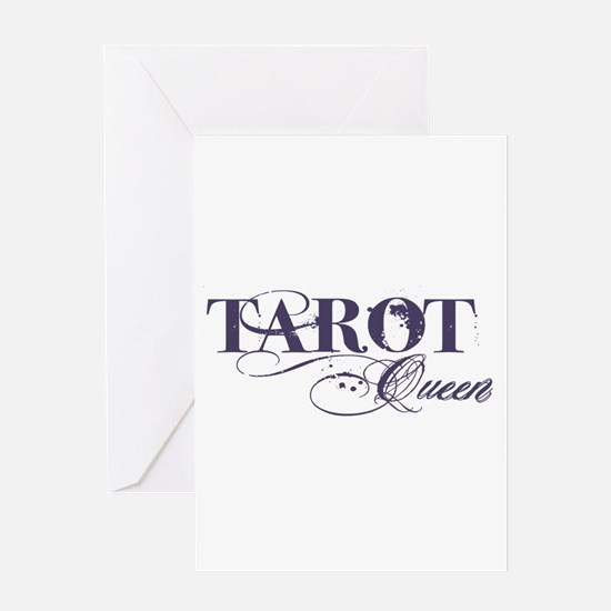 Tarot Queen Greeting Card