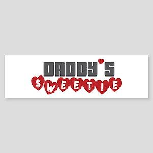 Daddy's Sweetie Bumper Sticker