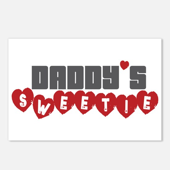 Daddy's Sweetie Postcards (Package of 8)