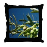 California Olives Art Throw Pillow