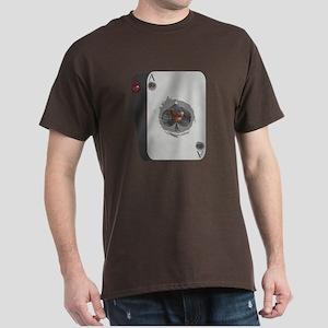 Black Jack Chicken Dark T-Shirt