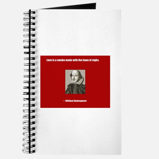 Shakespeare Love Quote Journal