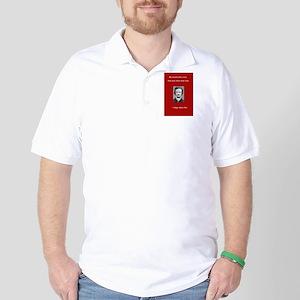Edgar Allen Poe Love Quote Golf Shirt