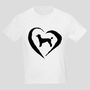 Poodle Heart Kids Light T-Shirt