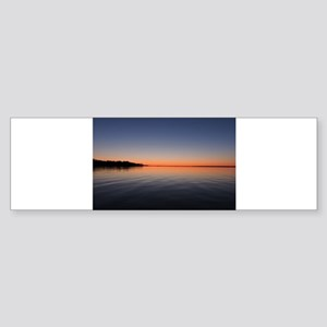 Sunrise Long Bumper Sticker
